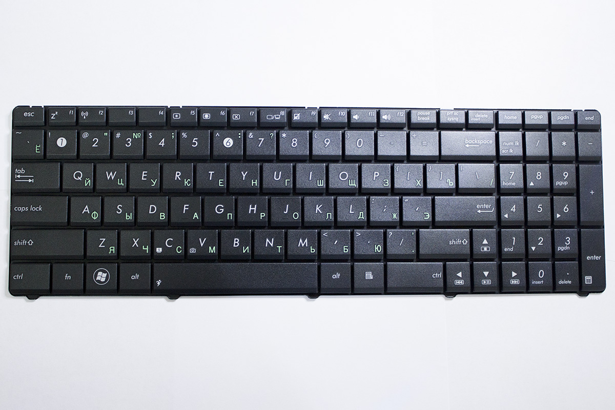 Клавиатура для ноутбука Asus Новая с гарантией в Хабаровске